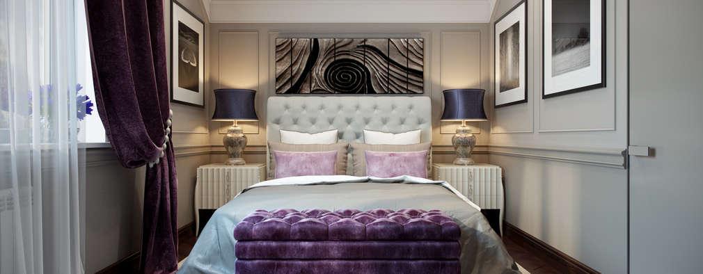Projekty,  Sypialnia zaprojektowane przez Design Studio Details