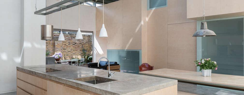 Cocinas de estilo moderno de Henning Stummel Architects Ltd
