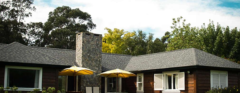 Casas de estilo rural por Chauvín Arquitectura
