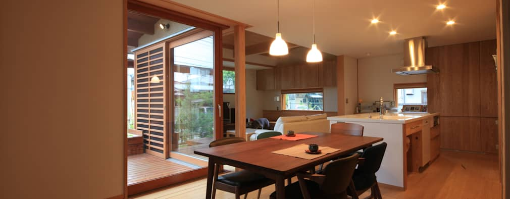Столовые комнаты в . Автор – 田村建築設計工房