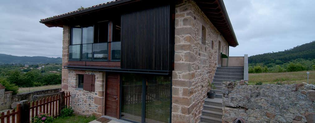 RUBIO · BILBAO ARQUITECTOS: kırsal tarz tarz Evler
