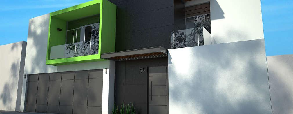 Casas de estilo moderno por Arquitecto Alan RGA