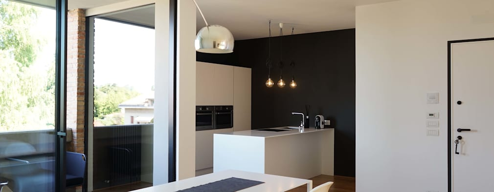 moderne Eetkamer door Andrea Gaio Design