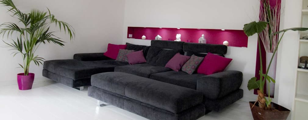 modern Living room by Studio HAUS