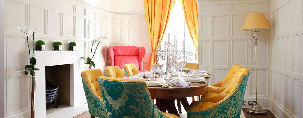 Comedores de estilo clásico por Rebecca James Studio