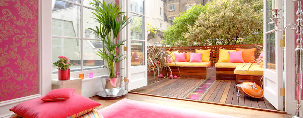 Montagu Square:  Terrace by Rebecca James Studio