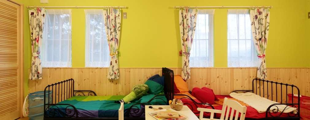 Recámaras infantiles de estilo escandinavo por dwarf