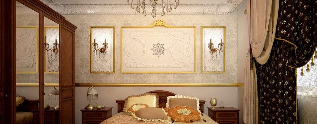 Projekty,  Sypialnia zaprojektowane przez Decor&Design
