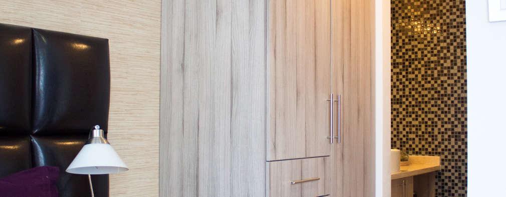 Vestidores y placares de estilo minimalista por Avianda Kitchen Design