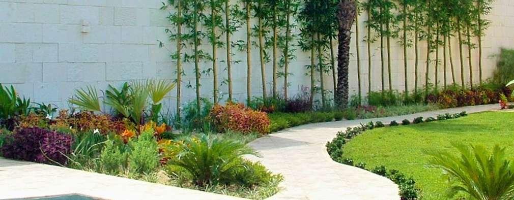 10 ideas para que las paredes de tu patio se vean Ideas para muros de jardin