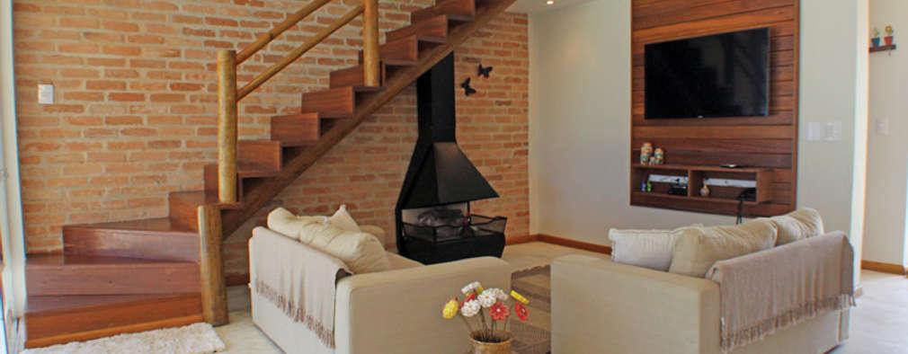 Salas / recibidores de estilo  por RAC ARQUITETURA