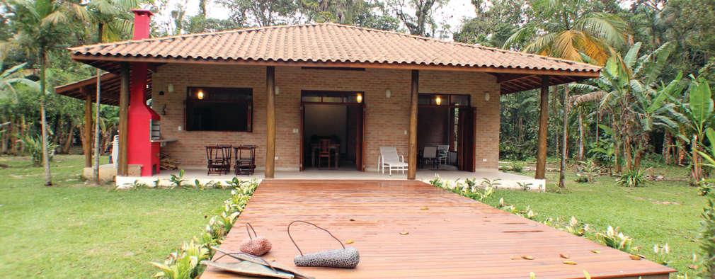 Casa de praia r stica arrasa constru da com material barato for Casa minimalista rustica