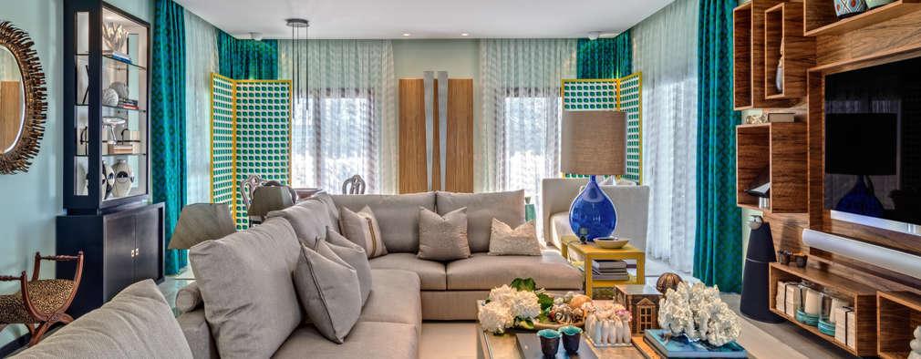 ห้องนั่งเล่น by Viterbo Interior design