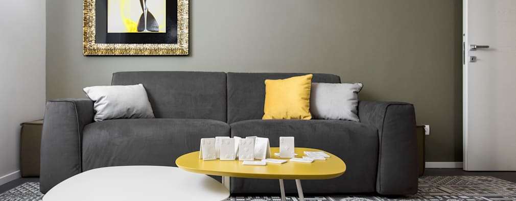 Livings de estilo moderno por Studio Andrea Castrignano