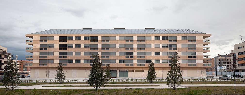 Edificio de Viviendas en Guindalera: Casas de estilo moderno de Ignacio Quemada Arquitectos