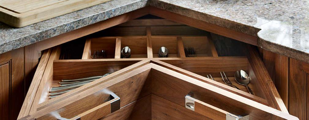6 muebles esquineros perfectos para ganar espacio en la cocina for Muebles de esquina para cocina