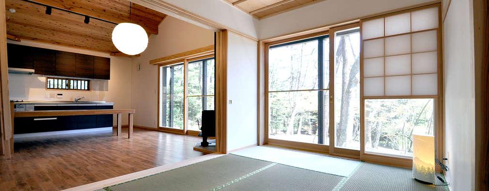 ห้องนอน by モリモトアトリエ / morimoto atelier