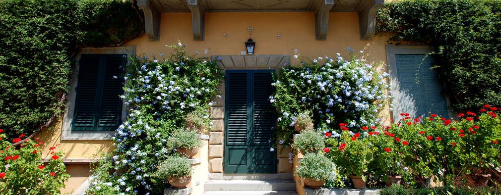 20 jardines peque os que har n lucir la fachada de tu casa - Casas con jardines bonitos ...