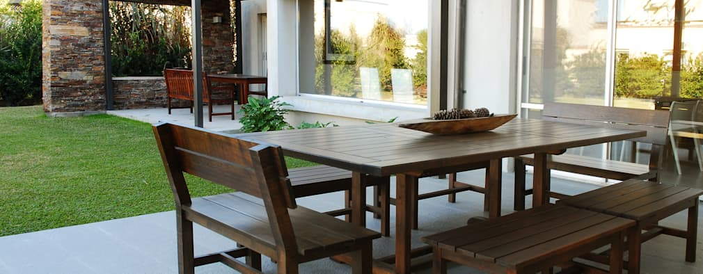16 juegos de muebles para el patio o jard n preciosos - Muebles de patio ...