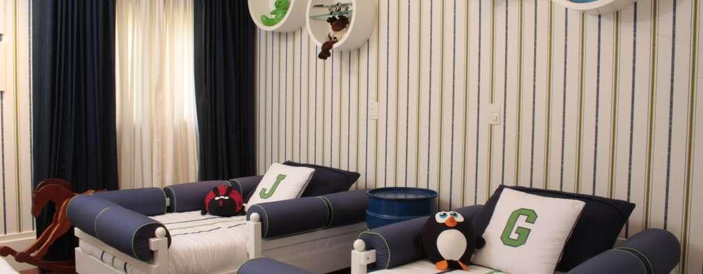 Interiores para recamaras infantiles for Recamaras infantiles para ninos