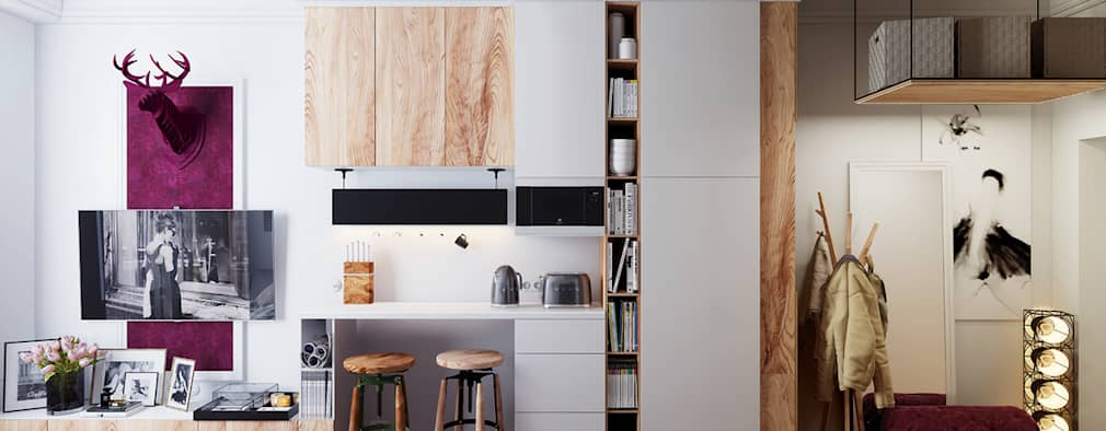 7 idee d 39 interior design fantastiche per una casa piccola - Idee per casa piccola ...