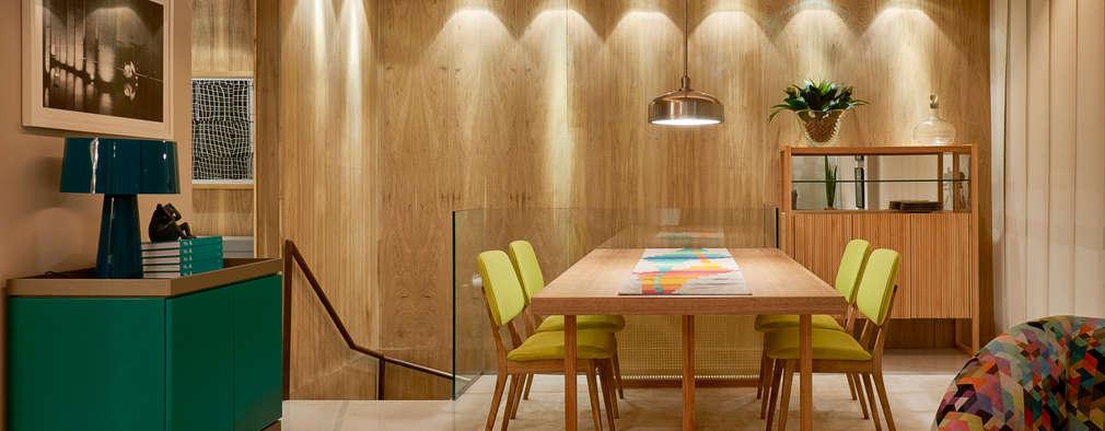 Comedores de estilo moderno por Lider Interiores