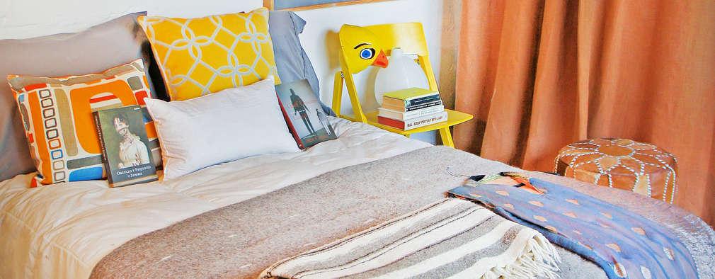 Juan Carlos Loyo Arquitectura : modern tarz Yatak Odası