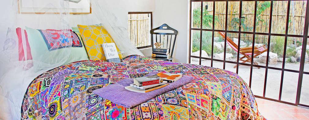 Dormitorios de estilo  por Juan Carlos Loyo Arquitectura