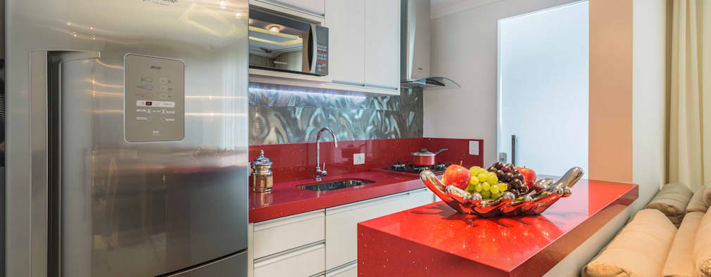 Cocinas de estilo moderno por Silvana Borzi Design