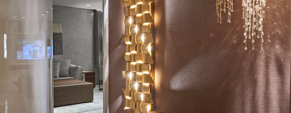 Pasillos y vestíbulos de estilo  por Isabela Canaan Arquitetos e Associados