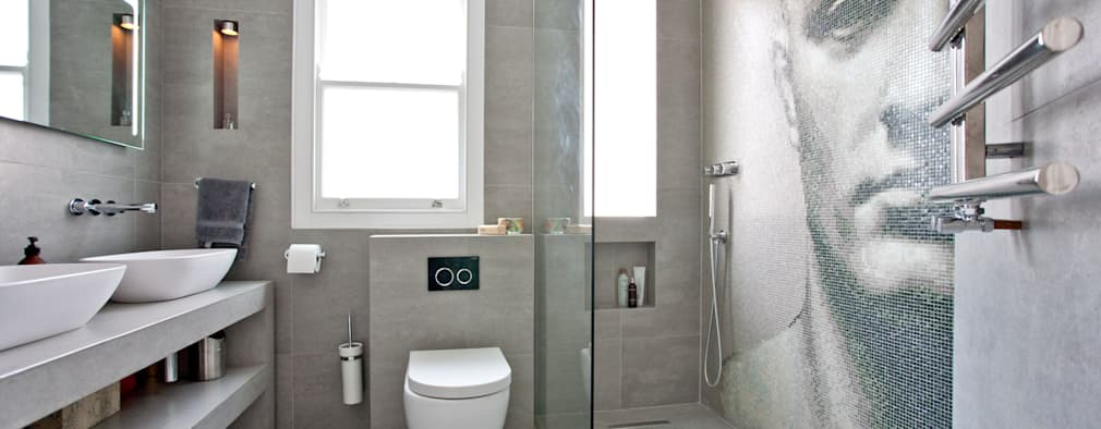 ห้องน้ำ by A1 Lofts and Extensions