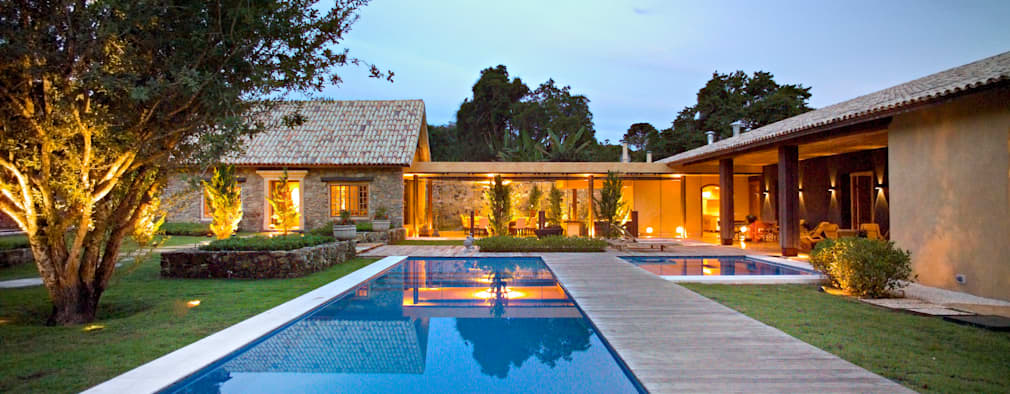 country Houses by Mario Caetano e Eliane Pinheiro
