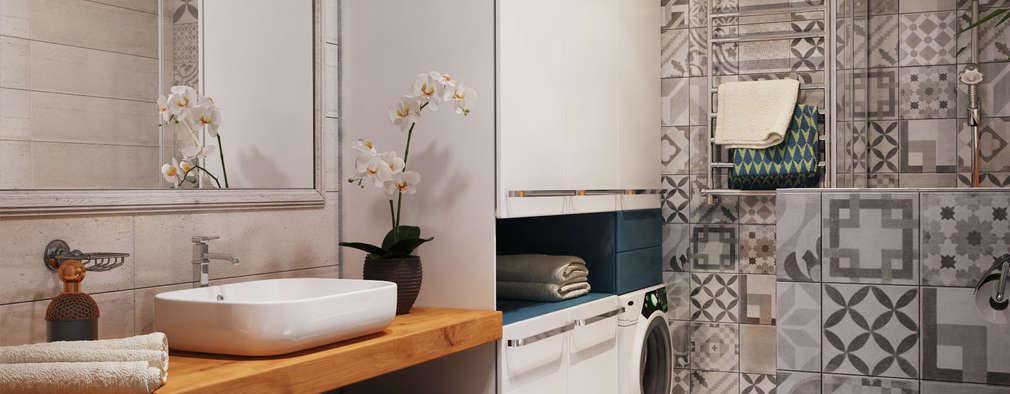 Baños de estilo minimalista por Polygon arch&des