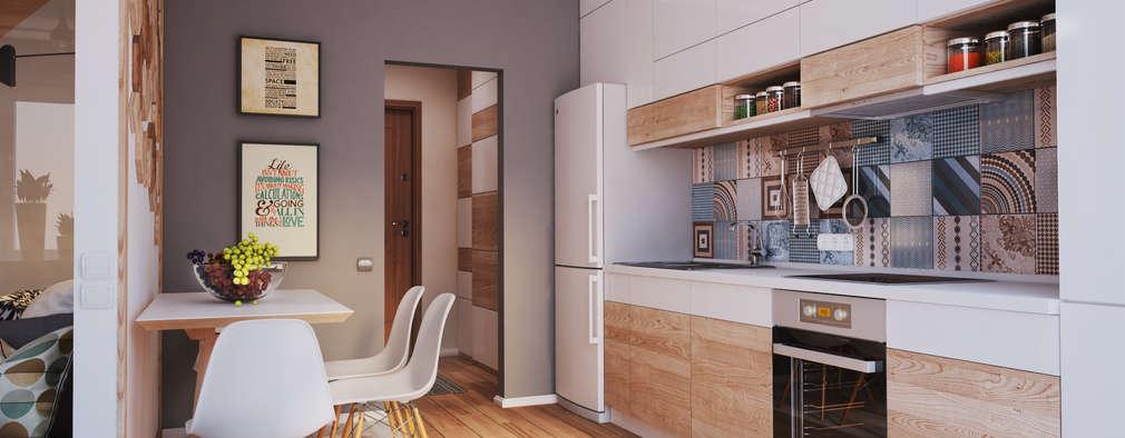 작은 주방에 냉장고를 배치하는 11가지 독창적인 방법