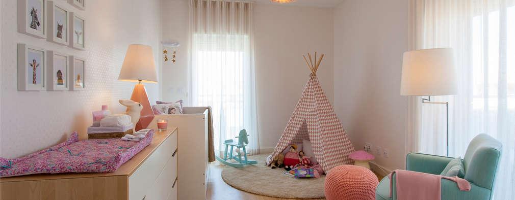 modern Nursery/kid's room by Traço Magenta - Design de Interiores