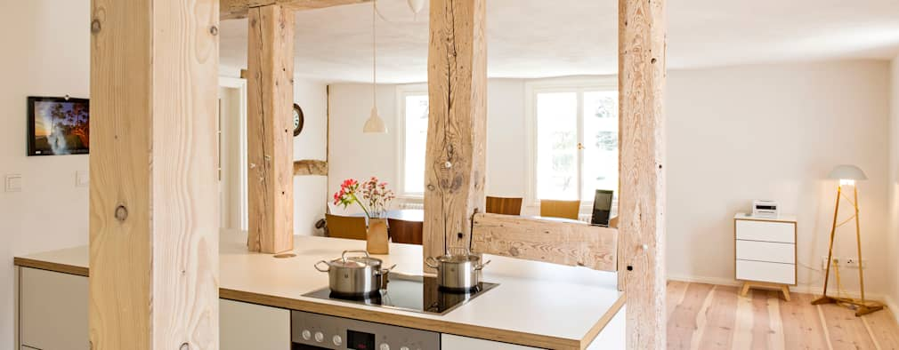 Projekty,  Kuchnia zaprojektowane przez Planungsgruppe Barthelmey