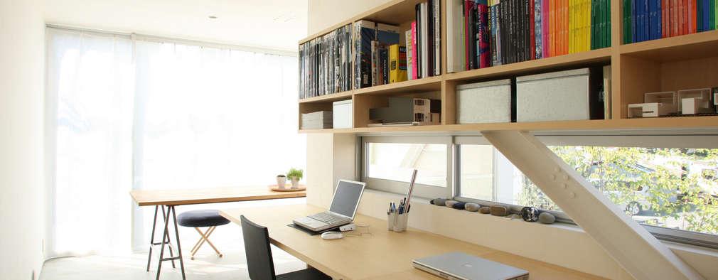 ミラボと実家 /a couples working studio & their parents home: 3--labが手掛けた書斎です。