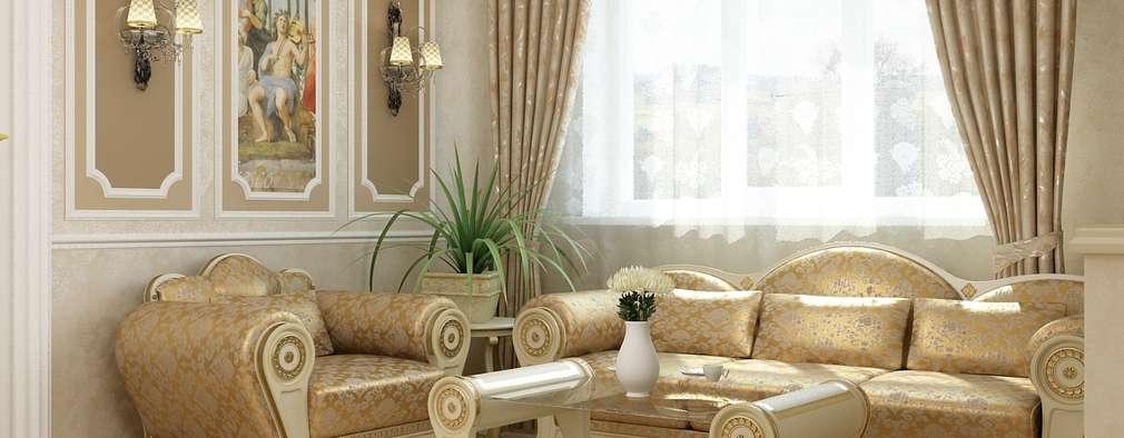 classic Living room by АЛЕКСАНДР ЕЛАШИН. СТУДИЯ ДИЗАЙНА ЭЛИТНЫХ ИНТЕРЬЕРОВ.