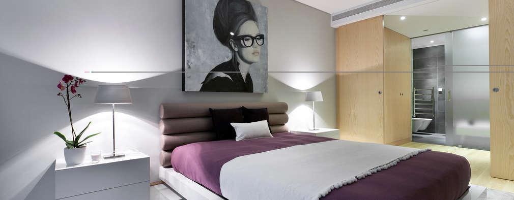 Projekty,  Sypialnia zaprojektowane przez Sónia Cruz - Arquitectura