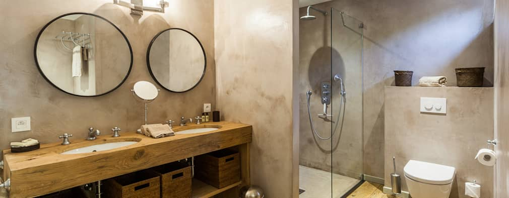 20 prachtige badkamers met hout in de hoofdrol