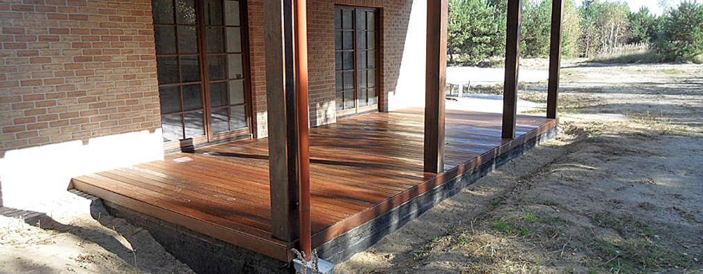C mo hacer un cobertizo de madera para la terraza for Cobertizo de madera ideas de disenos
