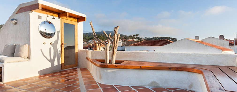 Terrasse de style  par pedro quintela studio