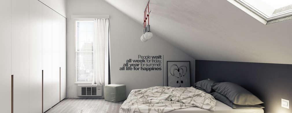 غرفة نوم تنفيذ Simone Manna 3D