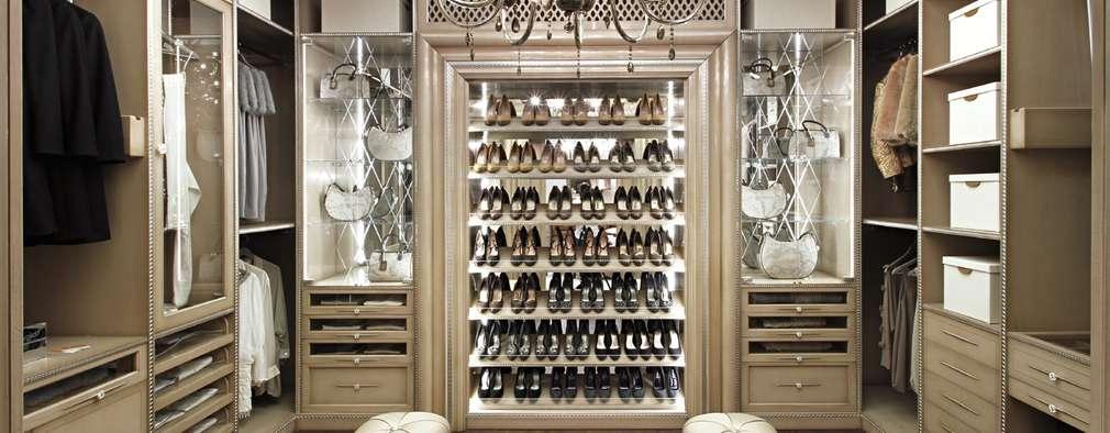18 vestidores modernos que seguro te fascinar n for Ideas para closets modernos