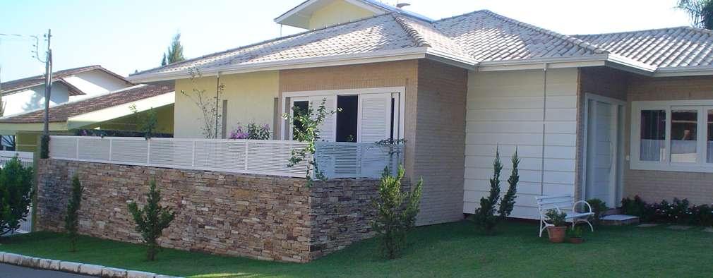 Casas de estilo  por Solange Figueiredo - ALLS Arquitetura e engenharia