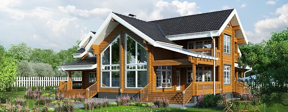 Casas de estilo clásico por Design studio of Stanislav Orekhov. ARCHITECTURE / INTERIOR DESIGN / VISUALIZATION.
