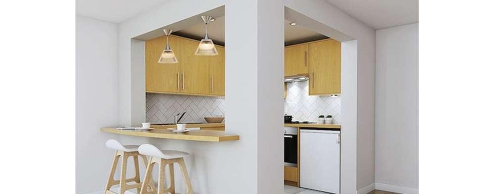 Dapur by Katie Malik Interiors