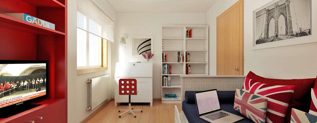 minimalistic Bedroom by José Tiago Rosa
