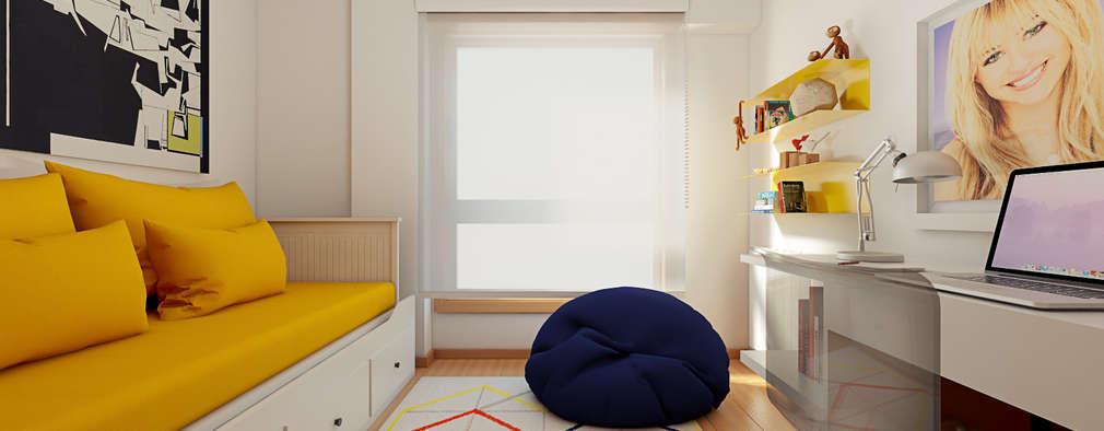 Projekty,  Pokój dziecięcy zaprojektowane przez José Tiago Rosa