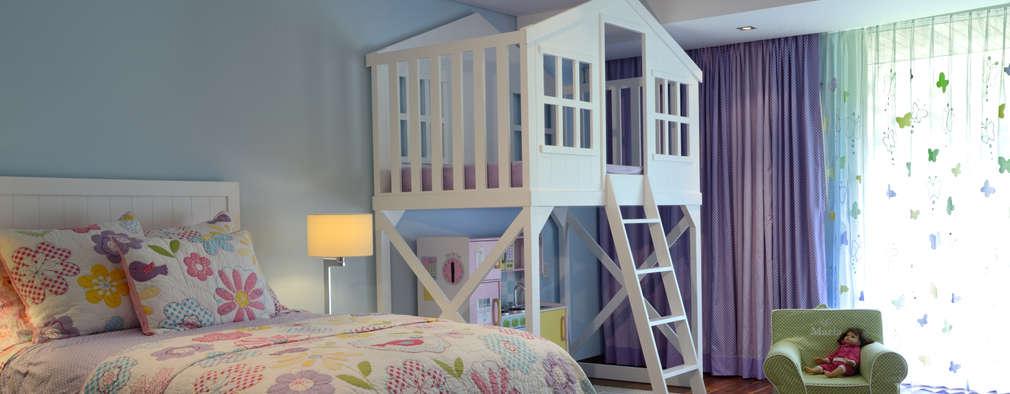 Habitaciones infantiles de estilo  de VICTORIA PLASENCIA INTERIORISMO